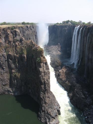 Victoriafälle - Trockenzeit - Sambia