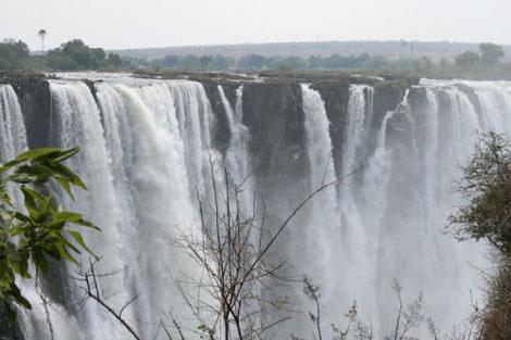 Victoriafälle - Trockenzeit - Simbabwe