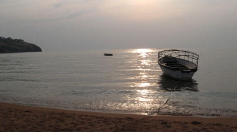 Lake Tanganjika - Sonnenuntergang