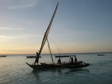 Fischfang in Nungwi - Sansibar