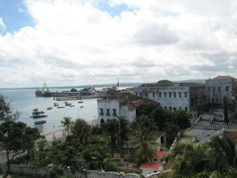 Hafen in Stone Town - Sansibar