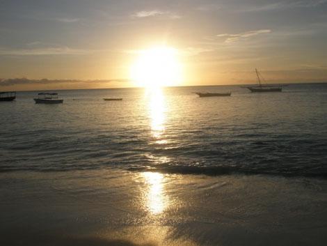 Sonnenuntergang in Nungwi - Sansibar