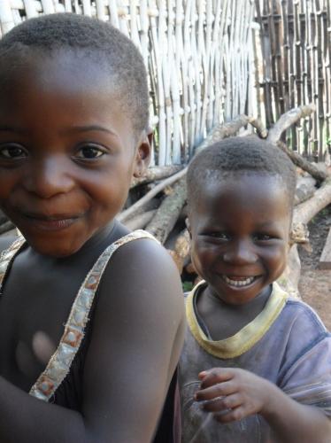 Kinder in der Volta Region