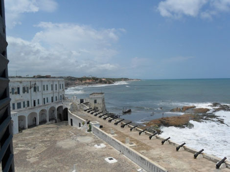Cape Coast Castle - Küste