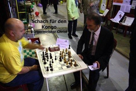Ein Schachspiel für den Bürgermeister