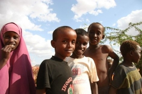 Kinder in Kenia