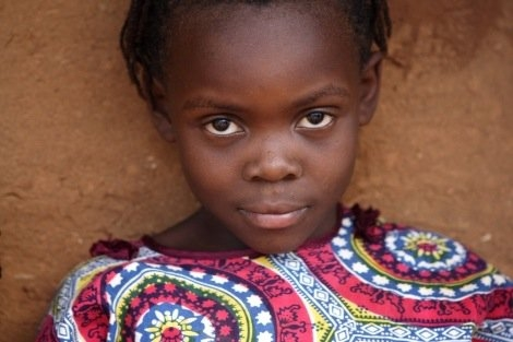 Mädchen im Flüchtlingslager in Kenia