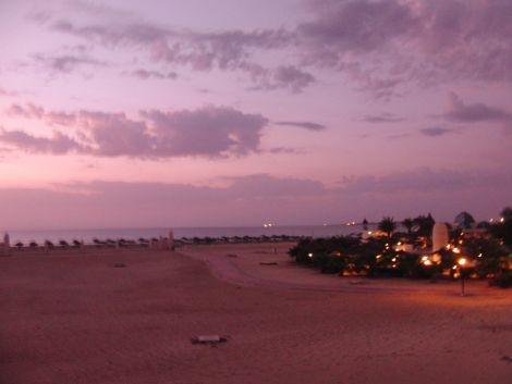 Kapverden Boa Vista Riu Karamboa Sonnenuntergang