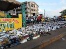 Schuhgeschäft in Kumasi