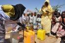 Wasserversorung von Fl�chtlingen