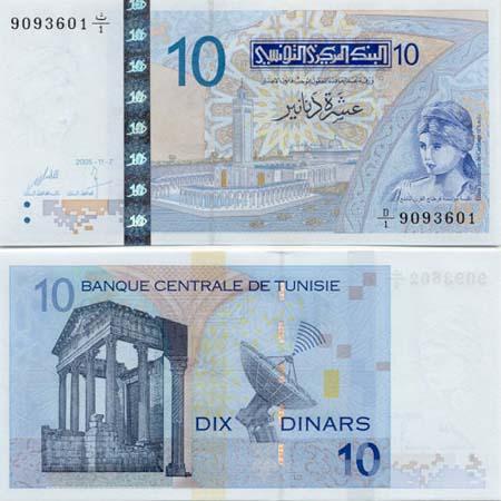 Zahlungsmittel Tunesien