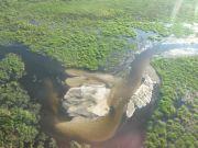Botswana: Okavango Delta Luftbild