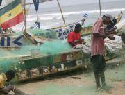 Ghana: Krokrobitey Beach Fischer