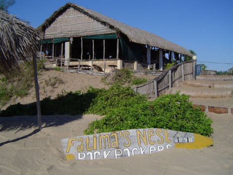 Tofo Beach Fatimas Nest Restaurant