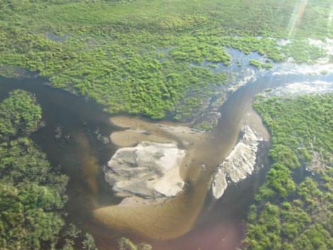 Okavango Delta Luftbild