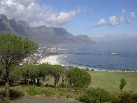 Kapstadt Camps Bay Zwoelf Apostel Berge