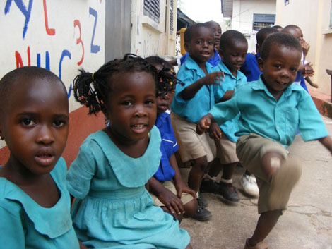 Kindergarten in Hohoe