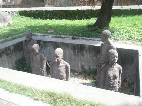 Sklavendenkmal in Stone Town - Sansibar