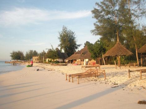 Erholung am Strand in Nungwi - Sansibar