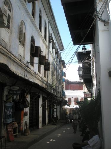 Gassen in Stone Town - Sansibar