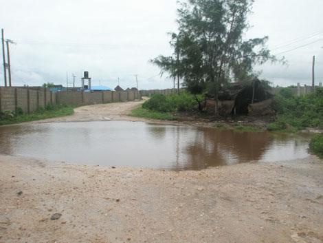 Nungwi während der Regenzeit - Sansibar