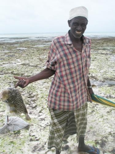 Fischer in Nungwi - Sansibar