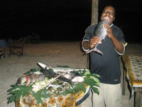 Koch in Nungwi - Sansibar