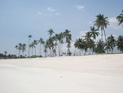 Strand in Mombasa