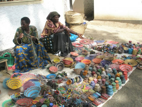 Massaimarkt in Arusha
