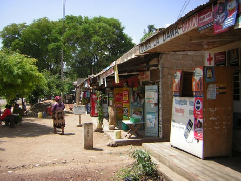 Läden in Arusha