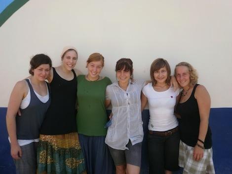 Junge Freiwillige aus Deutschland