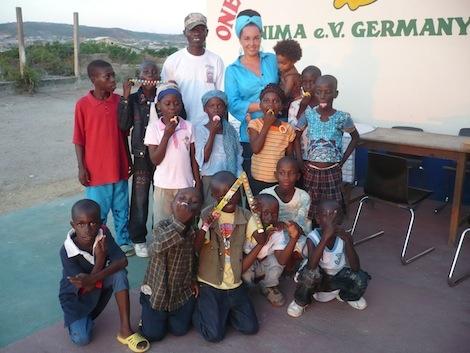 Ghana Nima e.V. Vorstandsvorsitzende Anna Zaaki
