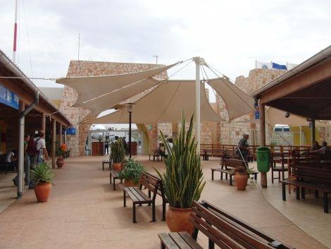 Kapverden Boa Vista Airport Rabil Abflughalle